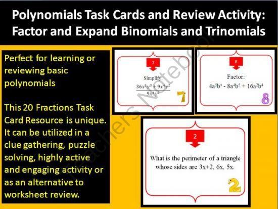 worksheet puzzle factoring trinomials puzzle worksheet factoring ...