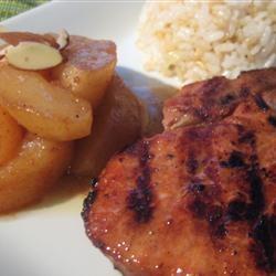 Caramel Apple Pork Chops | Recipe