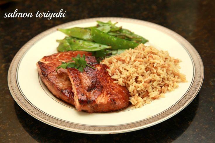 Simple Salmon Teriyaki Recipe — Dishmaps