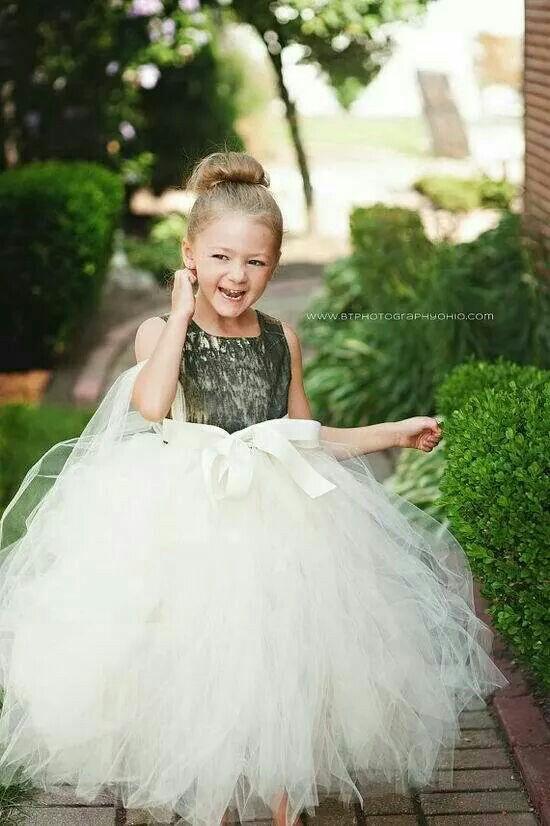 camo flower girl dress redneck wedding pinterest