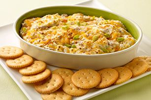 Hot ham and cheese dip | Appetizers | Pinterest