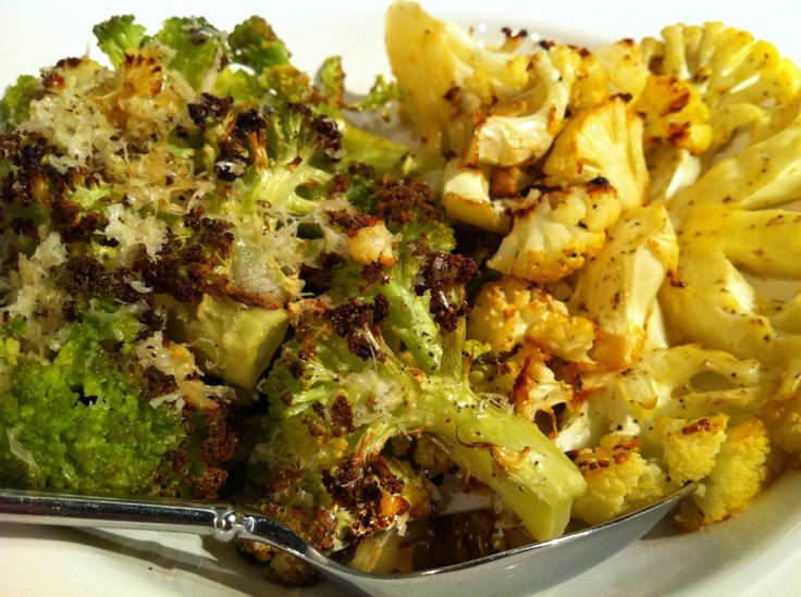 Crispy Roasted Cauliflower Recipe — Dishmaps