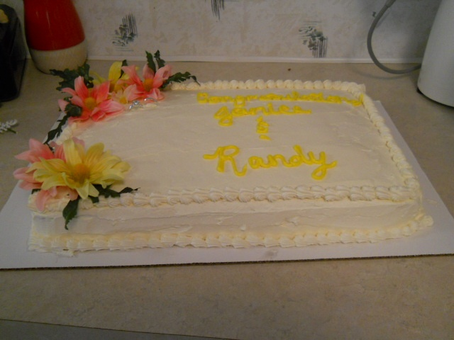 Wedding Shower Gift For Brother : Bridal Shower Cake for Brother and Sister in Law