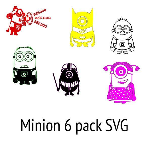 Minion SVG Files by LetsCutSomething on Etsy, $3.00