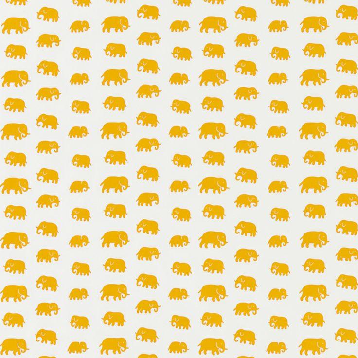 Textil Elefant Bomull