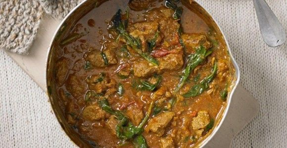 Lamb and Spinach Curry | Recipes | Pinterest