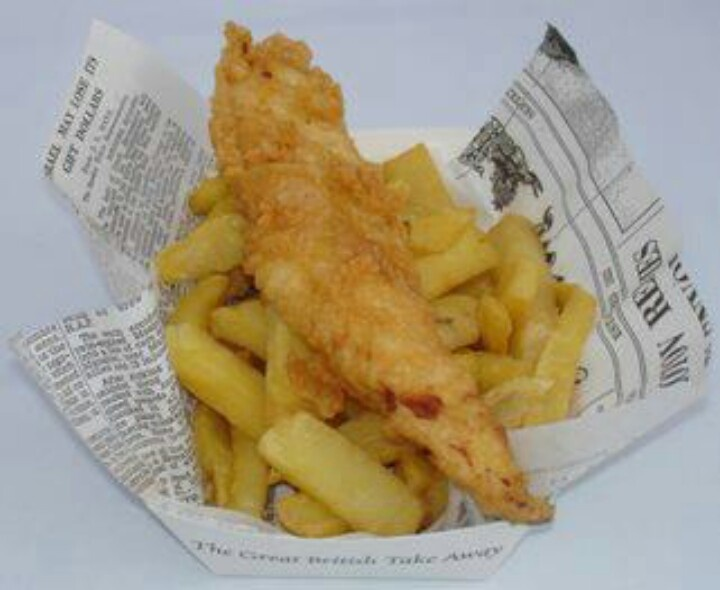 Fish and chips ...