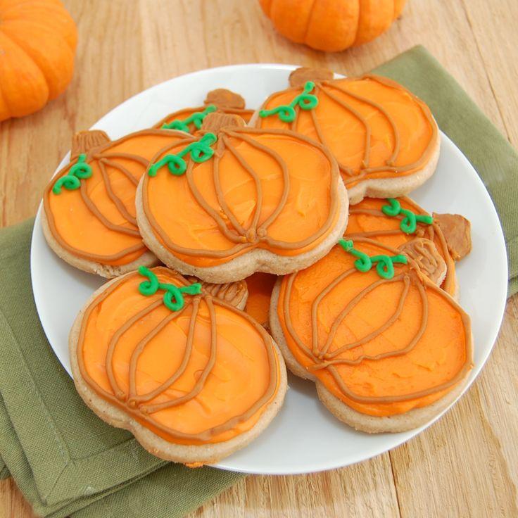 Pumpkin Spice Sugar Cookies | Recipe