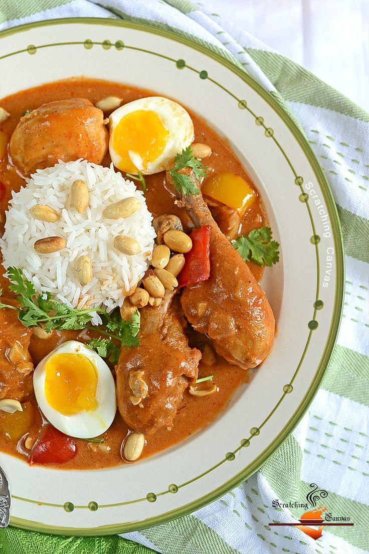 African Spicy Peanut Chicken | Inspiratie voor lekker eten | Pinterest