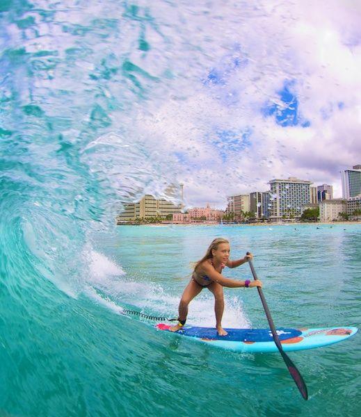Vanina Walsh # SUP # Stand Up Paddle # Hawaii