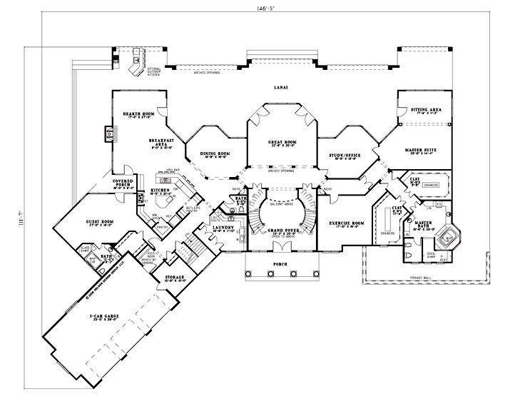 301 moved permanently for House plans with hearth rooms