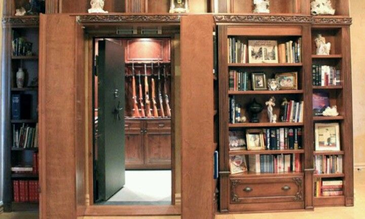 Hidden Gun Safe Room If Only I Won The Loto Pinterest