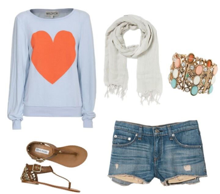 Comfy Summer Outfit | Clothesu0026Hair | Pinterest