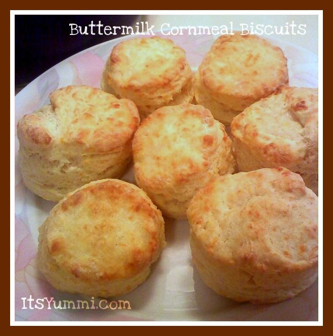 ... , or biscuits. That's why these buttermilk cornmeal biscuits a