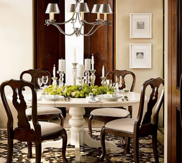 Painted dining room set craft projects pinterest for Dining room paintings