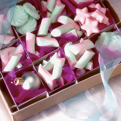 """... Twists. """"These delicate buttermints are a perfect easy-to-make gift"""