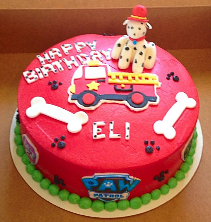 Paw patrol birthday cake easton pinterest