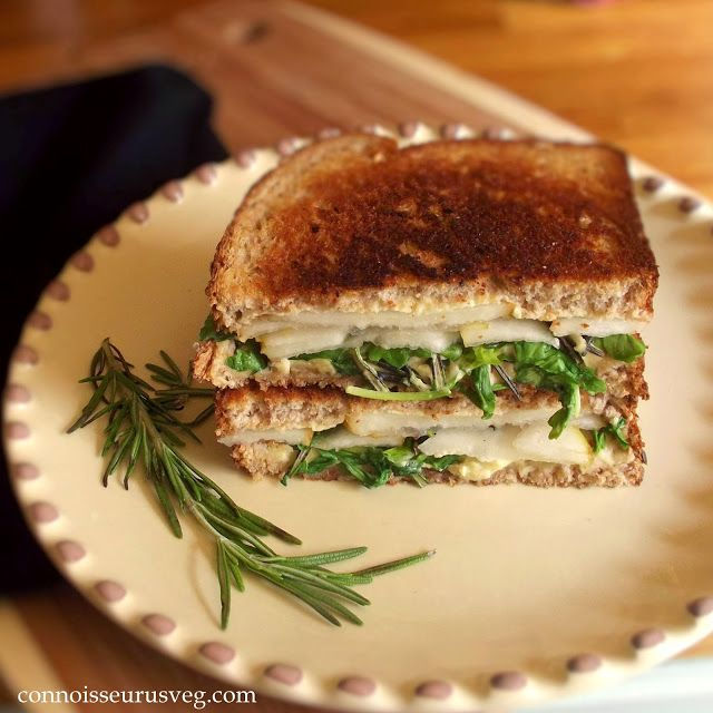 Vegan Pear, Rosemary and 'Brie' Panini (fabulous looking link for ...