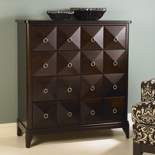 Kincaid Furniture 92 028 Alston Accent Chest Cappuccino