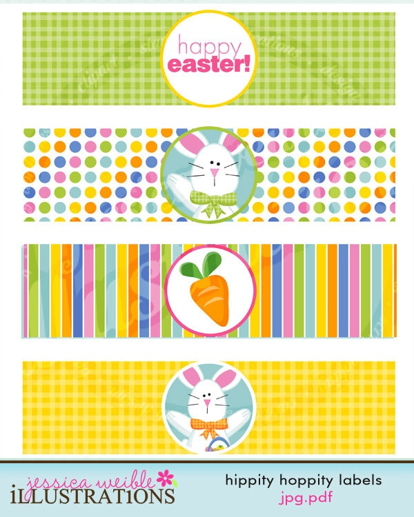 ... Bunny Matching Printable Party Water Bottle Labels. $5.00, via Etsy