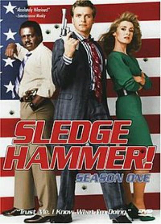sledge hammer tv series pinterest