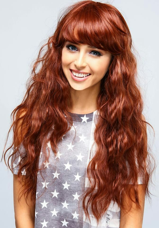long curly hairstyles with bangs beauty riot long wavy