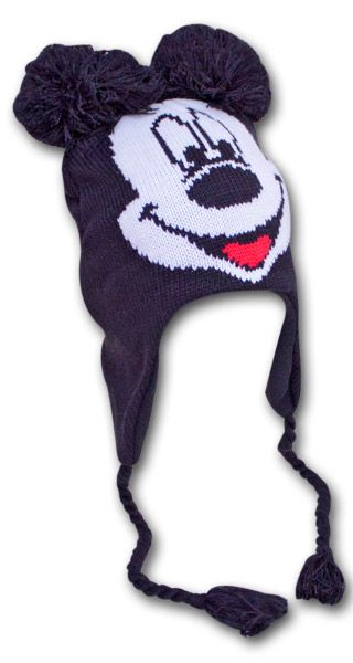 20 Disney Mickey Mouse Winter Beanie Laplander Costume Hat (18621)
