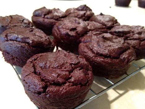 Chocolate Quinoa Cupcakes | eatpurefood | Gluten free | Pinterest