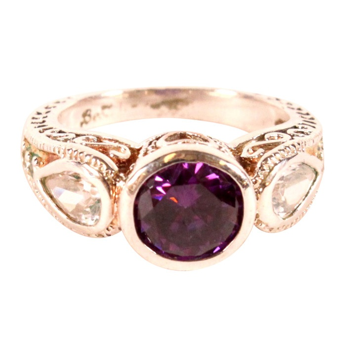 amethyst ring vintage - photo #4