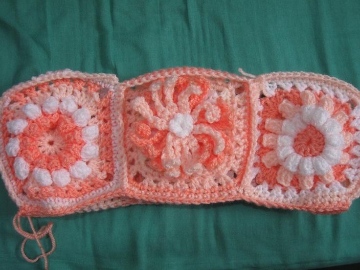 Popcorn Flower Granny - Meladoras Free Crochet Patterns & Tutorials
