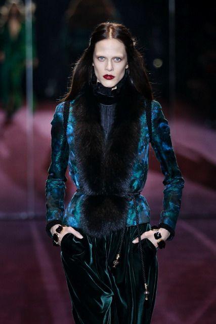 Меховая мода осень зима 2012 2013 на milan