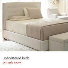 Beds On Sale : shop upholstered beds, on sale now  House Inspiration  Pinterest