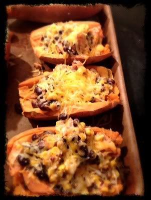 Southwest Sweet Potato Skins | MyFitnessPal.com