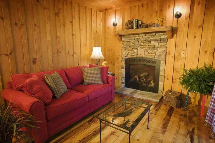 Love The Board And Batten Walls Cabin Interior Pinterest
