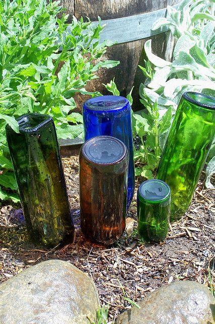 Garden Art From Junk Idea 2 Outside Pinterest