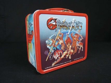 Thundercats Lunch Box by Aladdin Industries, 1985 via @National Museum of American History, Smithsonian