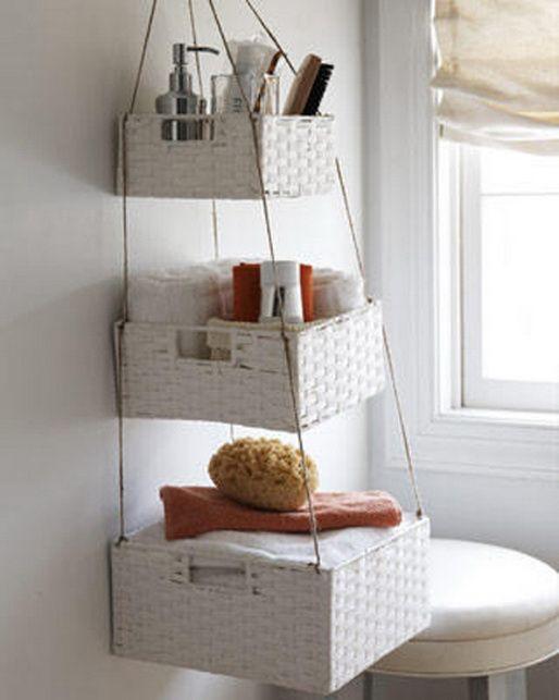 bathroom organizing storage ideas 09 home pinterest