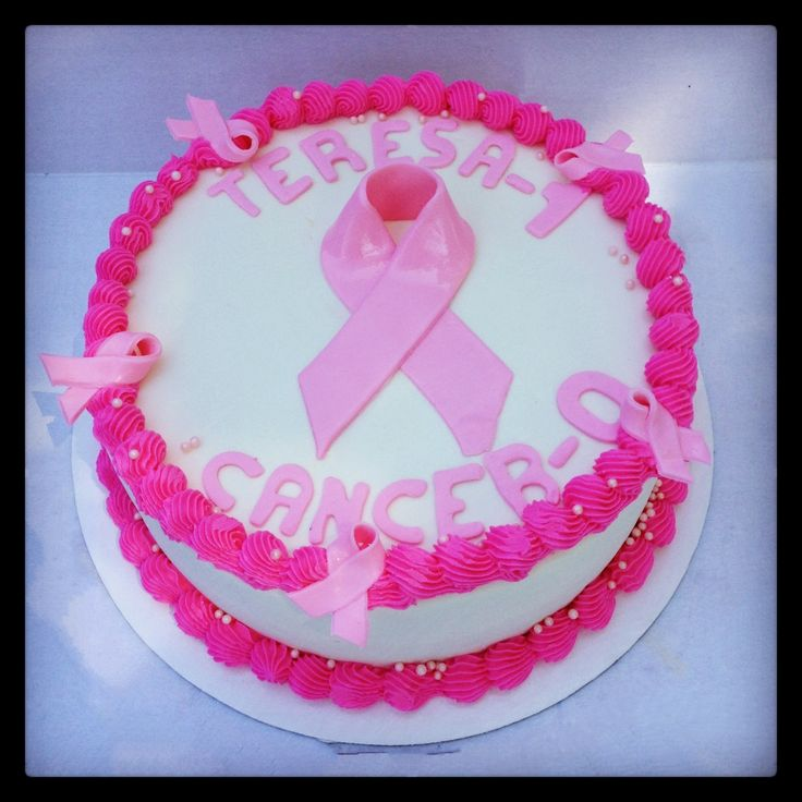 Pink Ribbon Breast Cancer Cake Ideas 48927 Breast Cancer P