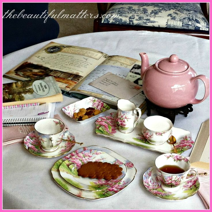 old fashioned afternoon tea