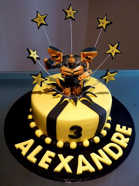 Transformer Cake by Cre8acake, via Flickr