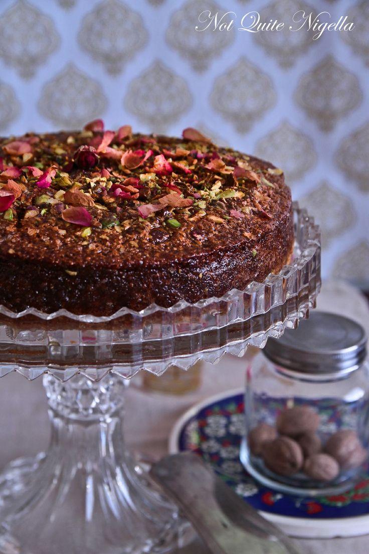 Armenian nutmeg cake. Original Recipe: http://www.aww.com.au/food ...