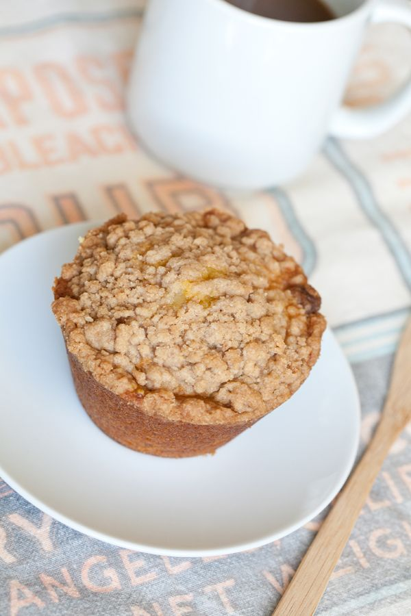 pumpkin muffins with cinnamon streusel - put streusel topping on the ...