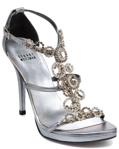 Stuart Weitzman 'Brillag' Leather Sandal