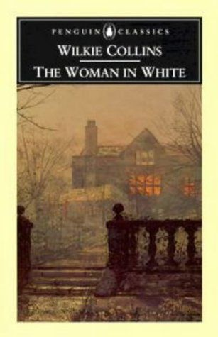 The Woman in White, by Wilkie Collins Considered to be the first modern mystery novel.  Published about 1860, before Sherlock Holmes.