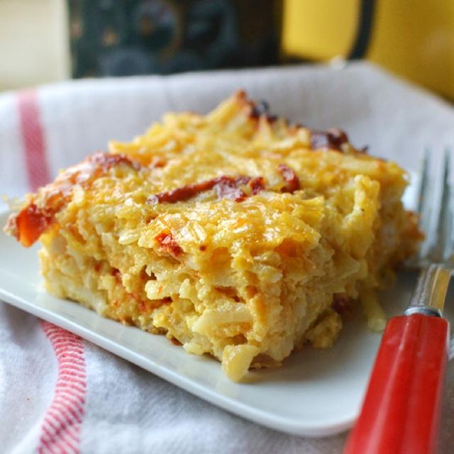 Cheesy potato breakfast | Oh HoW i LoVe FoOd | Pinterest