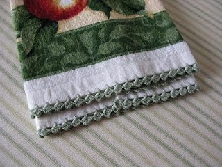Crochet Tutorial Zigzag : Tutorial - Easy Zig-Zag Crocheted Edging Crochet Pinterest