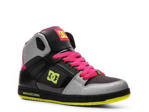 DC Shoes Rebound High-Top Skate Sneaker - Womens | DSW