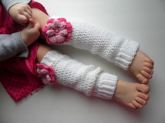 CROCHET PATTERN Leg Warmers for Babies and Kids w ...
