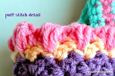 Crochet Seed Stitch Purse {free crochet pattern}