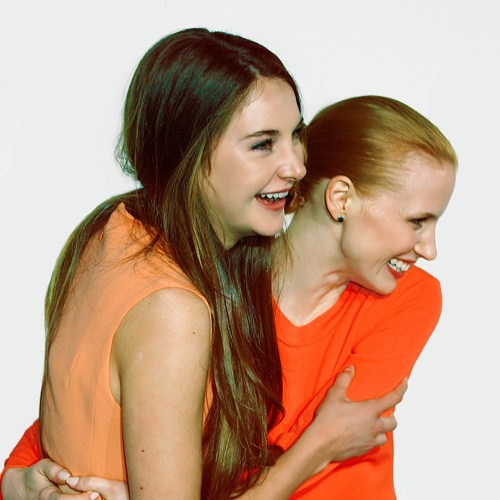 Jessica Chastain and Shailene Woodley | cinema | Pinterest Jessica Chastain